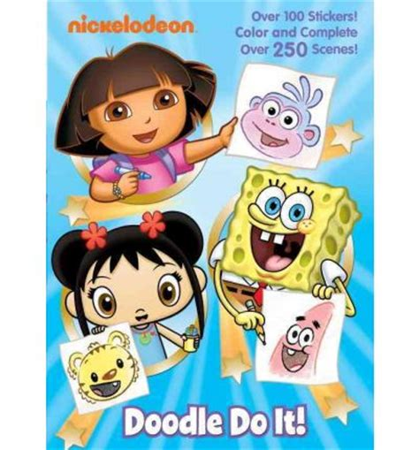 doodle do nickelodeon doodle do it golden books 9780375871733