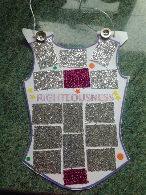 breastplate of righteousness template 34 best images about armor of god on crafts