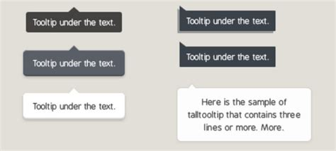 ui pattern tooltip collection of free jquery tooltip plugins ewebdesign