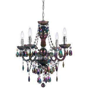 naples lighting and fan depot af lighting naples 4 light metallic mini chandelier with