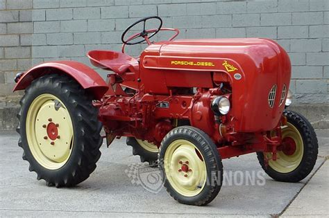 Sold: Porsche Diesel Junior V Tractor Auctions   Lot 24
