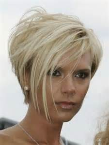 beckham blond platine court coupes courtes