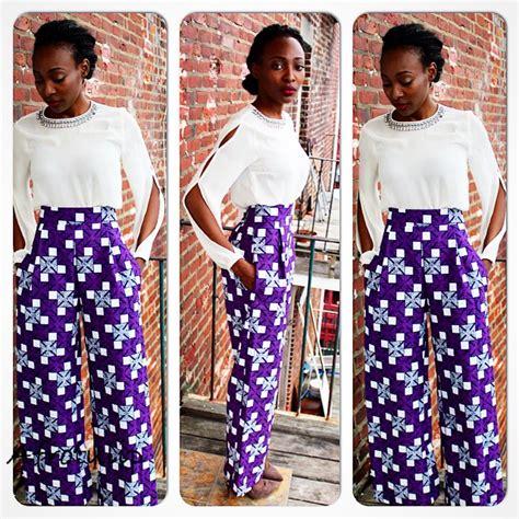 ankara combination styles pants inspired fashion gallery ankara styles in pant combination
