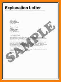 Explanation Letter To 8 How To Write Explanation Letter Packaging Clerks