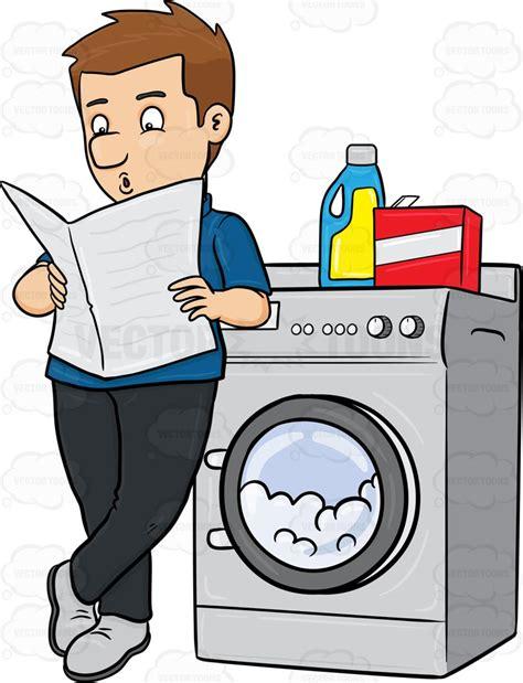 Laundromat Clipart