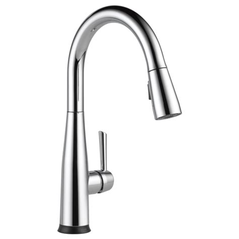 Air In Kitchen Faucet Kitchen Faucets Fixtures And Kitchen Accessories Delta