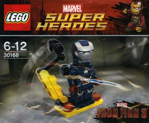 Lego 30168 Ironman Minifigure marvel heroes brickset lego set guide and database