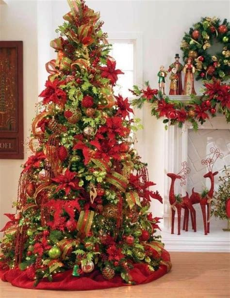 12 ft red christmas trees deco sapin de noel savoir bien d 233 corer sapin c 244 t 233 maison