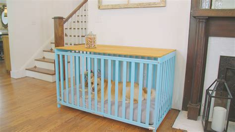 dog crate made out of dresser 98 a crib image titled keep a cat out of crib step