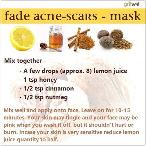 how to fade acne scars dark brown hairs best 25 honey cinnamon mask ideas on pinterest cinnamon