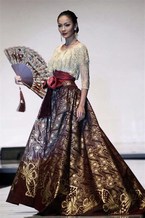 Kebaya Wulandari 215 best images about batik ku on fashion weeks s blouses and javanese