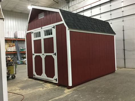 high barn style wood shed  sale