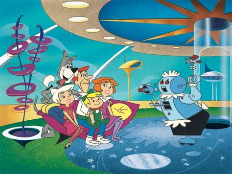 50s Home Decor by The Jetsons Work In The Modern World