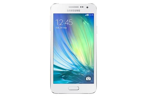 Samsung A3 Lte photo samsung galaxy a3 001 front white jpg 1400 x 933 gallery pdadb net