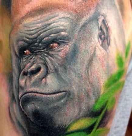 tattoo of us gorilla gorilla tattoo gorilla tattoos pinterest gorilla
