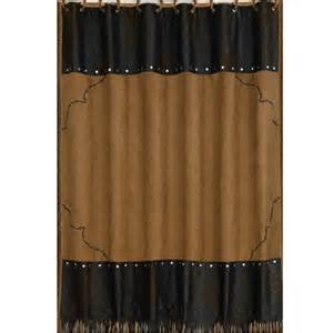 leather shower curtains delectably yours embroidered barbed wire shower