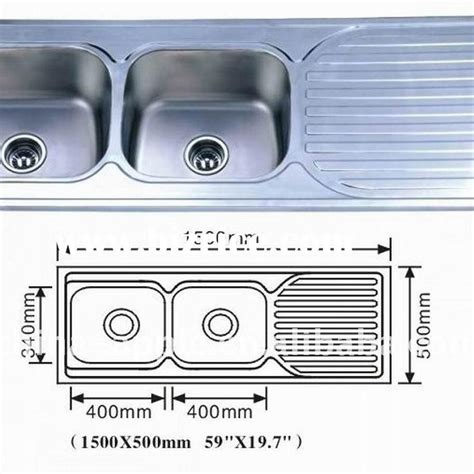 Standard Double Bowl Kitchen Sink Size Http Yonkou Tei Standard Size Kitchen Sink