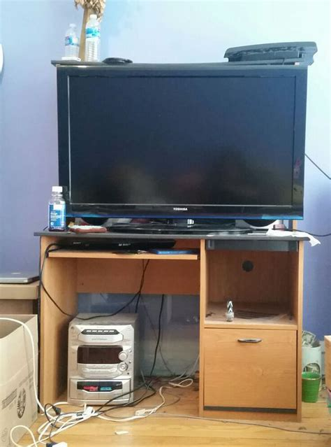 Computer Desk And Tv Stand Computer Desk Tv Stand Furniture In Chicago Il Offerup