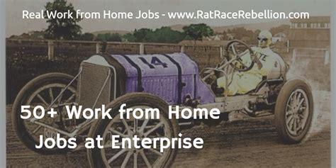 50 work from home at enterprise real work from