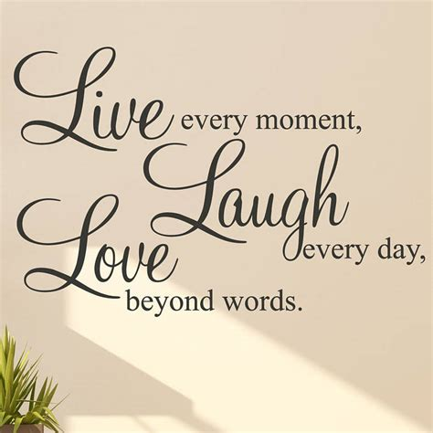 live laugh love art live laugh love words wall art sticker