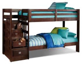 Loft Bed The Brick Berkeley Staircase Bunk Bed The Brick