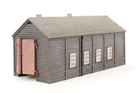 hattons co uk graham farish 42 096 wooden engine shed
