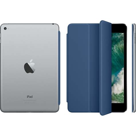 Smart Apple Mini 4 by Apple Mini 4 Smart Cover Blue Enaa