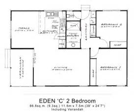 Floor Plan Of Two Bedroom Flat 2 Bed Granny Flats Large Willow Grove