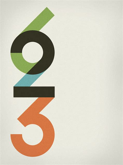 typography numerals 58 beautiful numerical typography designs web graphic design bashooka