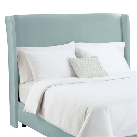 wing back headboard skyline furniture wingback headboard atg stores