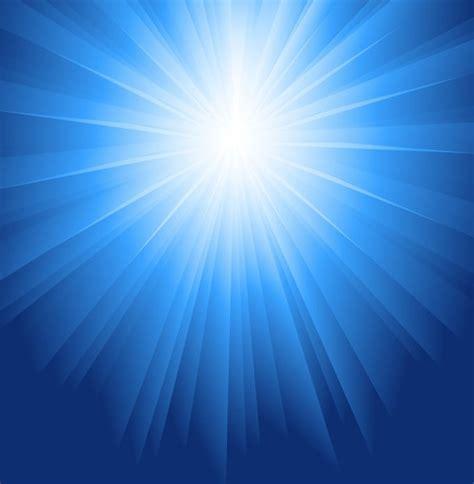 Luca Kid Biru sinar matahari meledak biru vector latar belakang vector