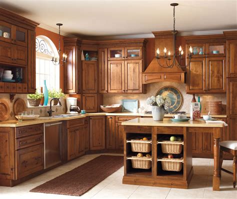 Alder Wood Kitchen Cabinets Rustic Alder Kitchen Cabinets Schrock Cabinetry