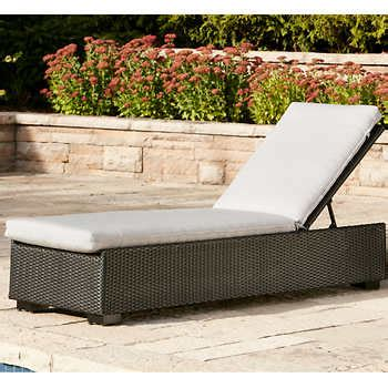 costco resin wicker lounge chairs laguna chaise lounge