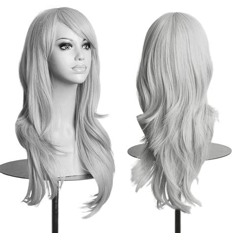 how to style costume wigs fashion cosplay wig long straight curly wavy hair full