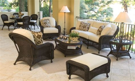 porch furniture sets black wicker patio furniture sets