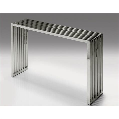 stainless steel sofa table stainless steel sofa table prague stainless steel console