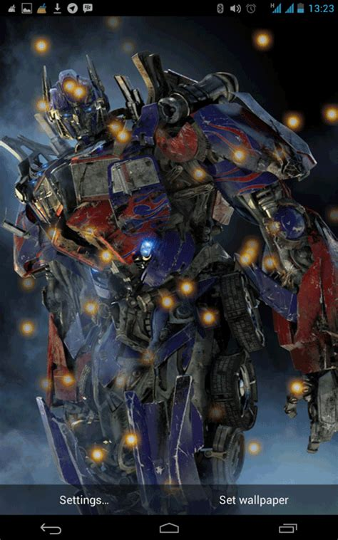 wallpaper android transformer free transformer 4 live wallpaper apk download for android