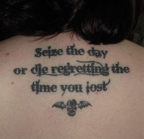 seize the day tattoo designs seize the day www imgkid the image kid has it