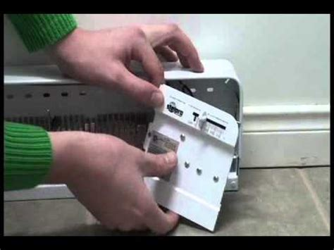 adding a thermostat to an electric baseboard heater stelpro installation du thermostat 233 lectronique b1t1er