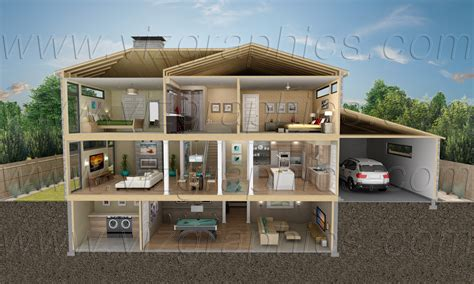 View Interior Of Homes by Cutaway House Www Imgkid The Image Kid Has It