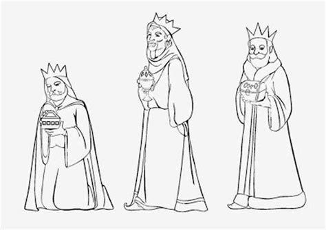 imagenes de reyes magos faciles im 225 genes de reyes magos para colorear dibujos de