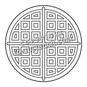 waffle house coloring page clip art waffle 2 coloring page abcteach