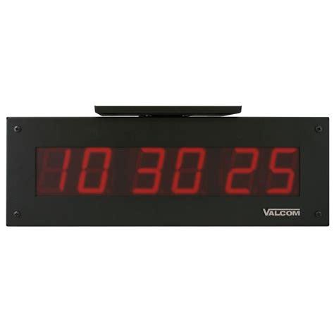seiko office clock doublesided clock for clock ip poe 4 0 in 6 digit digital clocks sided