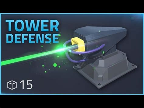 unity tutorial laser how to make a tower defense game e15 laser effects