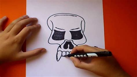 imagenes de una calavera sentada como dibujar una calavera paso a paso 3 how to draw a