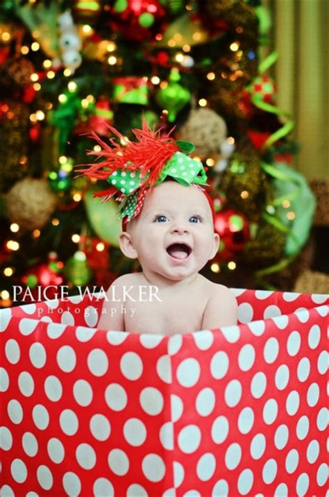 6 month christmas photos ideias de fotos de natal