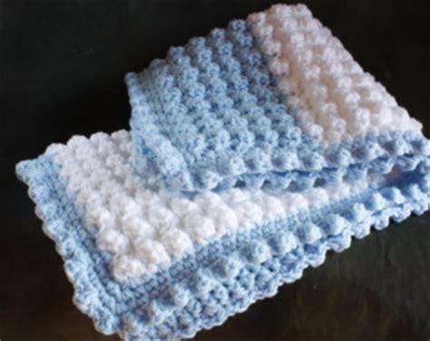 Crochet Popcorn Stitch Baby Blanket by Puff Stitch Baby Blanket Craftbnb