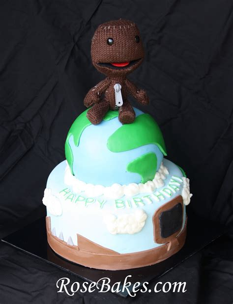 Decorate Home For Birthday Party little big planet birthday cake