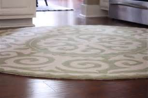 Best Area Rugs For Kitchen Decorating Your Kitchen And House By Adding The Round Rug