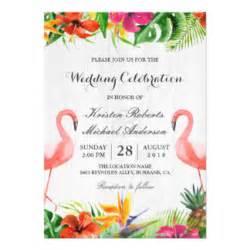 tropical invitations amp announcements zazzle